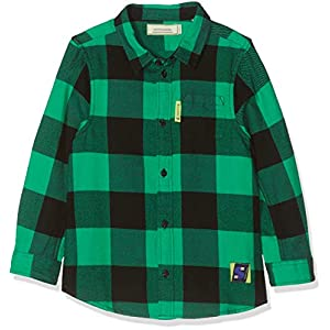 Scotch & Soda Boy's Yarn Dyed Colourful Check Shirt in Brushed Quality Blouse