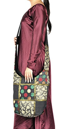 Work Tote Women Indian Bag Bhot Silk Design Decorative For Jacquard 4YYwqFtU