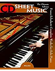 Music Schubert Complete Works for Piano (CD-ROM)