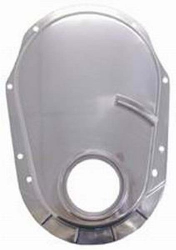 (Racing Power R8430 Polished Aluminum Timing Chain Cover (O-ring style))