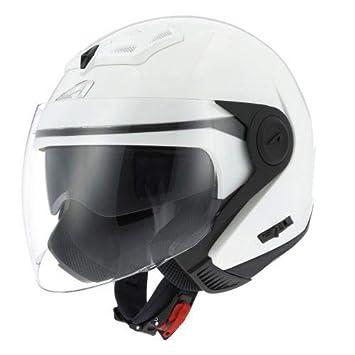 Casque jet DJ8 monocolor Matt titanium M Coque en polycarbonate Astone Helmets Casque jet look r/étro Casque id/éal en zone urbaine