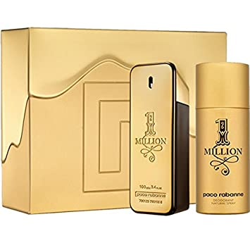 Amazoncom Paco Rabanne One Million M 2 Pc Set 34 Edt Spr 51