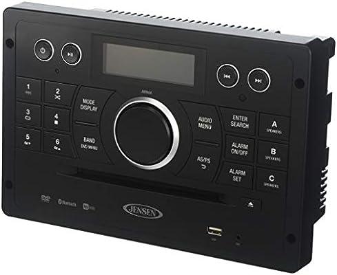 amazon com jensen jwm6a bluetooth capable device am fm dvd usb rh amazon com