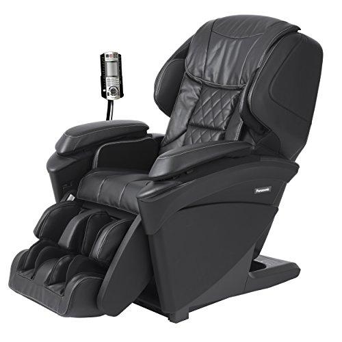 Panasonic MAJ7 Real Pro Ultra Premium 3d Luxury Heated Full Body Massage Recliner Chair (Black)