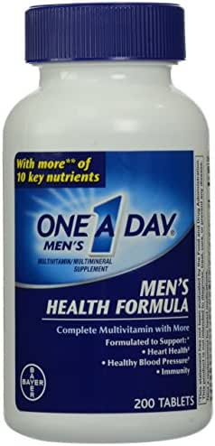 One-A-Day Multivitamin, Men's Health Formula Tablets, 200 Count