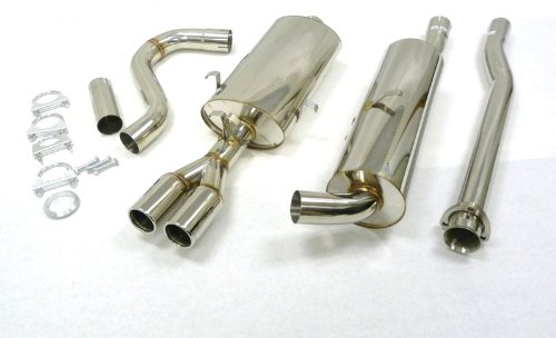 (OBX Performance Catback Exhaust System 83-93 Turbo Volvo 740 760 940)