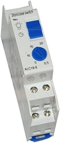 Temporizador automático para la luz de pasillos y escaleras: Amazon.es: Bricolaje y herramientas