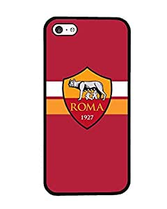 Iphone 5c Funda Case Football Club As Roma - Customized Drop Protection Dust-Proof Iphone 5c Back Funda Case Cover For Guys