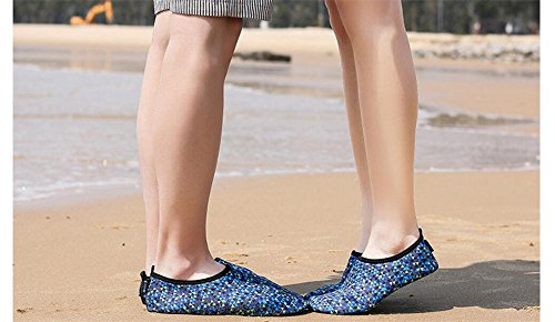 Surf Cloudless Water for Womens Pool Sports Shoes Dry Quick Beach Aqua Blue Shoes Diving Swim RwR8raqnx
