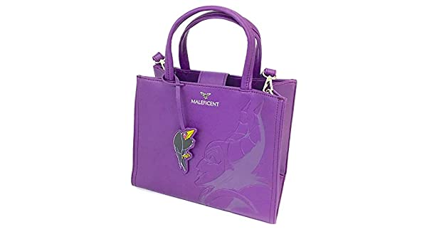 277afb04f86 Loungefly x Disney Maleficent Debossed Crossbody Bag with Shell Charm   Amazon.ca  Clothing   Accessories