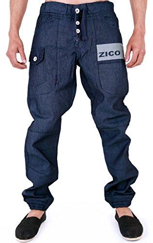 Zico Cuffed Herren Denim Jeans T-Pain Jogger