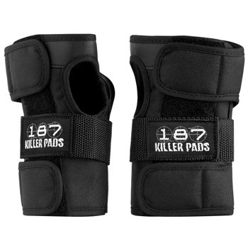 187 Wrist Guard Set Black Medium by 187