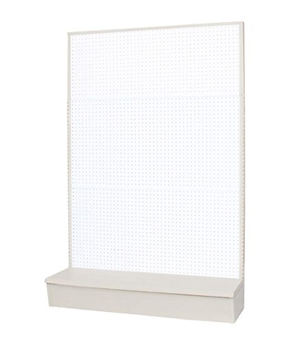 Gondola Shelving (Vulcan Industries, 1002454-00U0019, Economy Retail Gondola, Single Sided Pegboard, 24