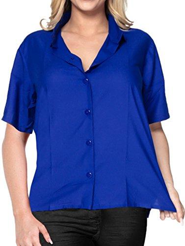 Embroidered Short Sleeve Work Shirt - 9