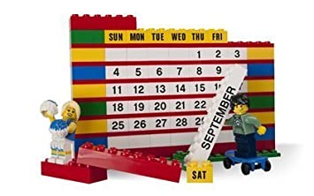 LEGO Brick Calendar 853195  Follow the building instructions to rebuild the Brick Calendar every month