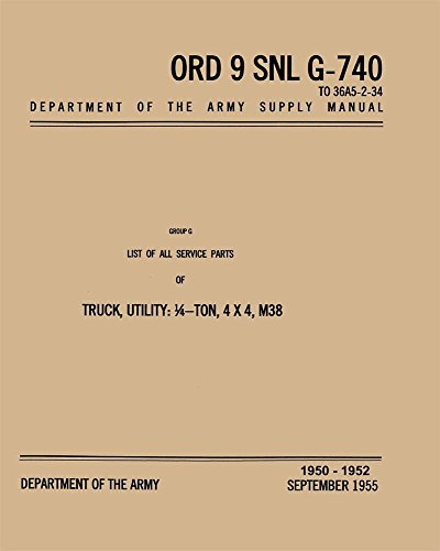 bishko automotive literature 1950 1951 1952 Jeep Military for sale  Delivered anywhere in Canada