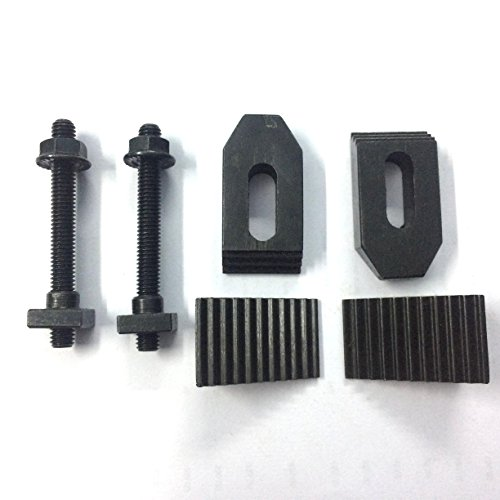M6 Clamp Kit Set (6 mm) suitable for 3'' (75mm) & 4'' (100 mm) Rotary Table by Global Tools