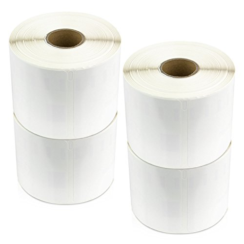 OfficeSmartLabels (2 x 3.5) Non Adhesive Business and Appointment Cards, Compatible with Dymo 30374 (4 Rolls - 300 Labels Per Roll)