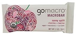 GO MACRO Macro Bars - Cherries & Berries - 2 OZ