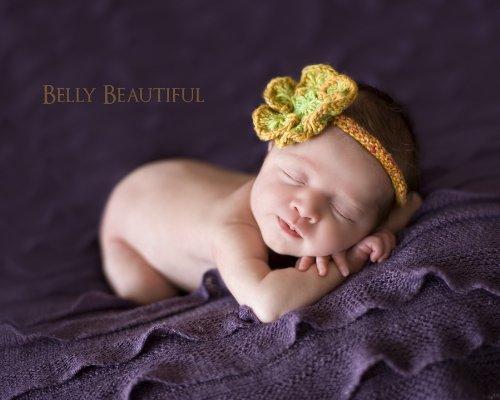 Spring Princess Headband Knitting Pattern