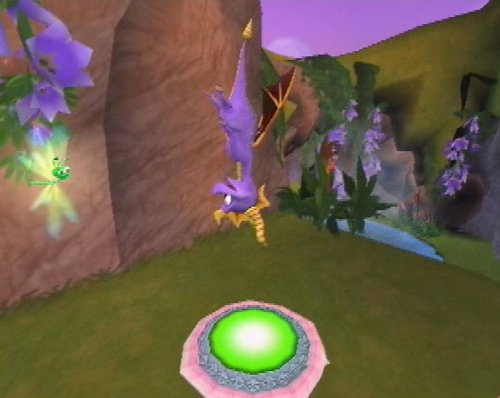 Playstation 2 SPYRO Enter The Dragonfly