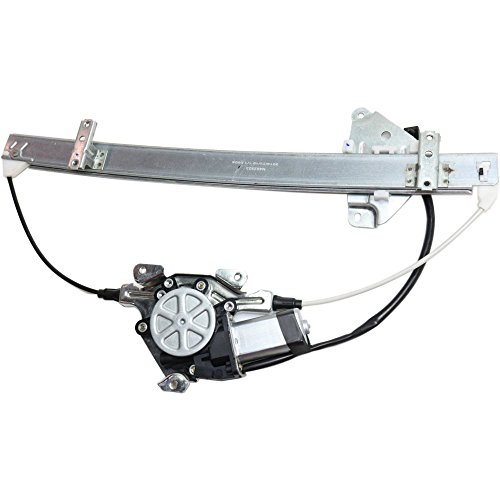 Front Window Regulator for Nissan Pickup 86-97 Right Power W/Motor ()