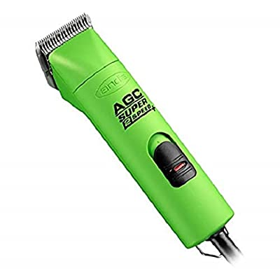 Image of Andis ProClip AGC Super 2-Speed Plus Detachable Blade Clipper - Spring Green Pet Supplies