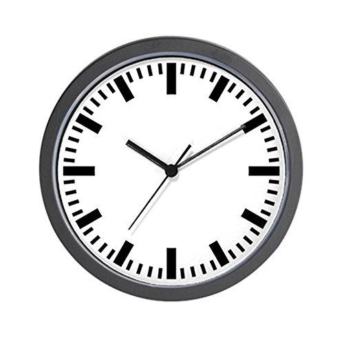 CafePress - GERMAN Train Station Clock - Unique Decorative 10