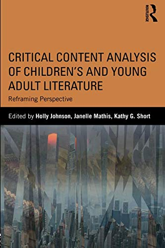 Critical Content Analysis of Children's and Young Adult Literature from Routledge