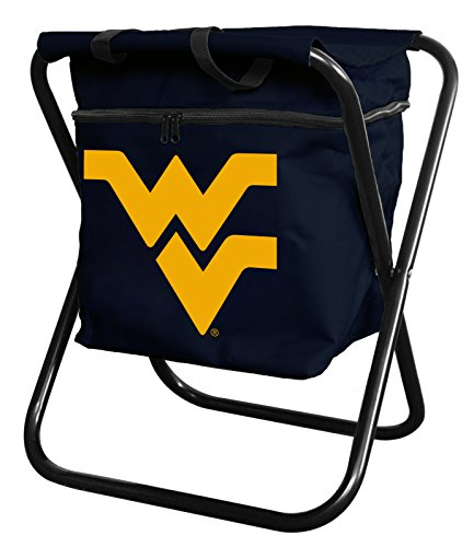 (West Virginia Mountaineers Tailgate Cooler Quad Chair)