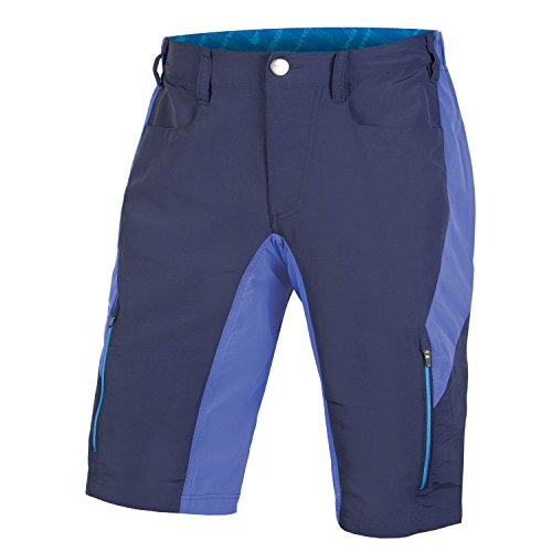 Endura SingleTrack III Baggy Cycling Short Navy, Medium