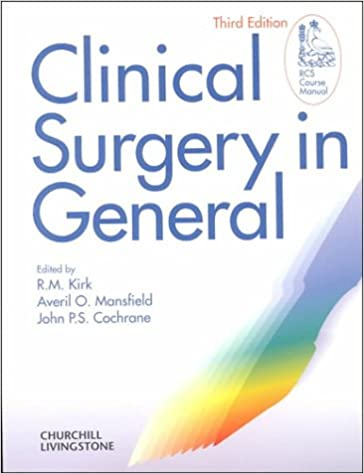 Clinical Surgery in General
