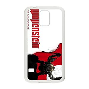 games Wolfenstein The New Order Game Poster Samsung Galaxy S5 Cell Phone Case White DIY Ornaments xxy002-9214722