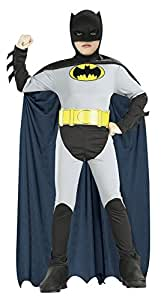Amazon.com: Rubie's Classic Batman Children's Costume