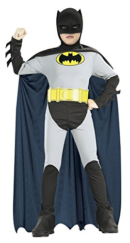 Batman Classic Halloween Costume Children-USA Size 4-6 (Ages 3-4) (Robin Outfit For Babies)