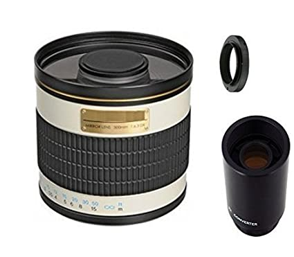 amazon com 500mm f 6 3 manual focus telephoto mirror lens 2x rh amazon com Zoom RFX 1000 User Manual Photography Manual Focus