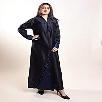 Abaya for Women Color Navy and Blue