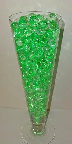 (Vase Filler , Water Storing Gel Deco Beads (Sea Mist Light Green) -Create Custom Centerpiece Vase Fillers)