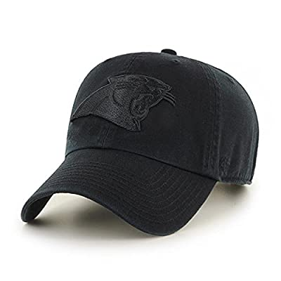 Carolina Panthers '47 Tonal Clean Up Adjustable Hat - Black