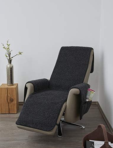 K. & N. Schurwolle Scheerwol fauteuil met