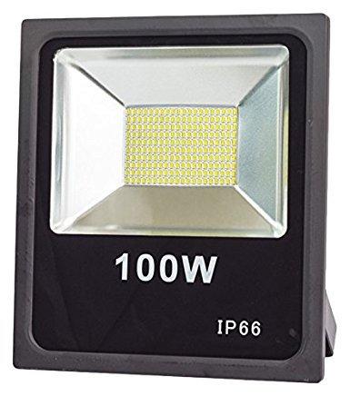 Faro LED LineteckLED, 100 W, profesional y potente, para exteriores, SMD LED IP66, luz blanca fría, 6000 K: Amazon.es: Iluminación