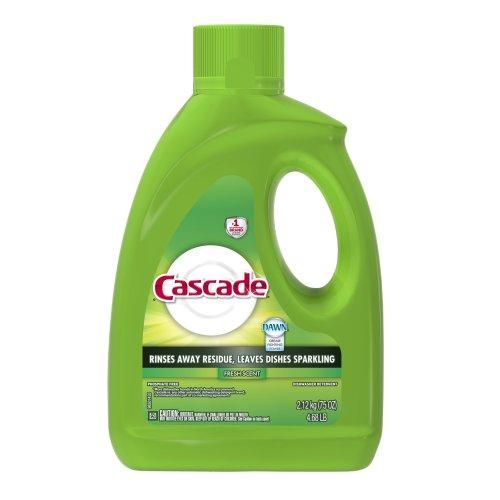 Cascade Gel Dishwasher Detergent, Fresh - 75 oz