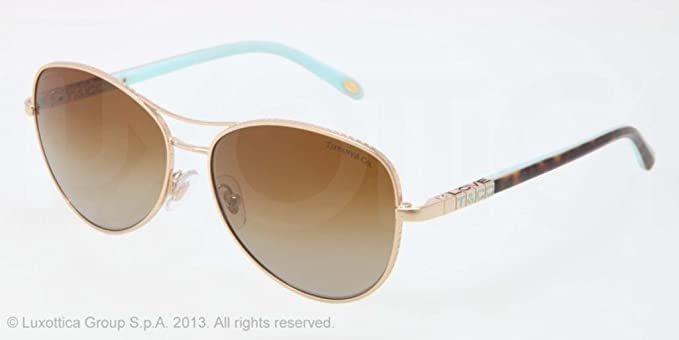 Gafas de Sol Tiffany & Co. TF3041 GOLD - POLAR BROWN ...