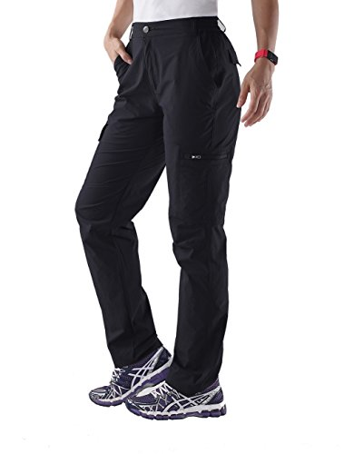Nonwe Women's Water-resistant Lightweight Cargo Pants-view 2