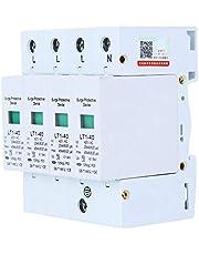 EVTSCAN Latest 4P LT1‑40 Surge Protector 40ka Protection Module Appliances Low Voltage Arrester White