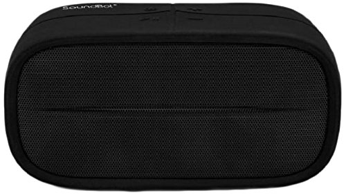 SoundBot SB572 Portable Bluetooth Speaker (Black)