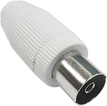 9037R28 - Conector para antena TV recto hembra 9,5 mm Axil