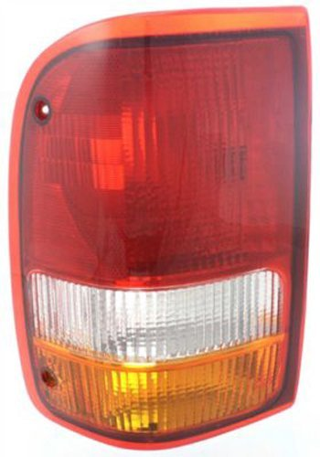 Crash Parts Plus Driver Left Side Tail Light Tail Lamp for 93-97 Ford Ranger