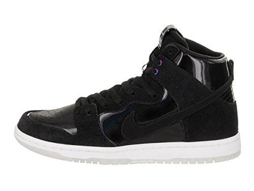 Nike Men's SB Zoom Dunk High Pro Black/Black White Clear Skate Shoe 6 Men US by Nike (Image #2)