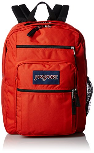 JanSport Big Student Classics Series Backpack - High Risk Red - Red Sport Series Slip